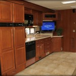 RV interior Repair, custom cabinets.  Hancock RV Repair custom RV interior renovations