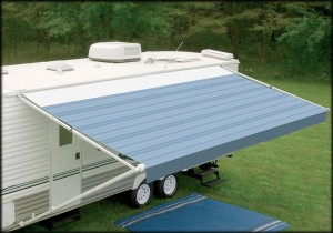 Custom RV Awning Installation