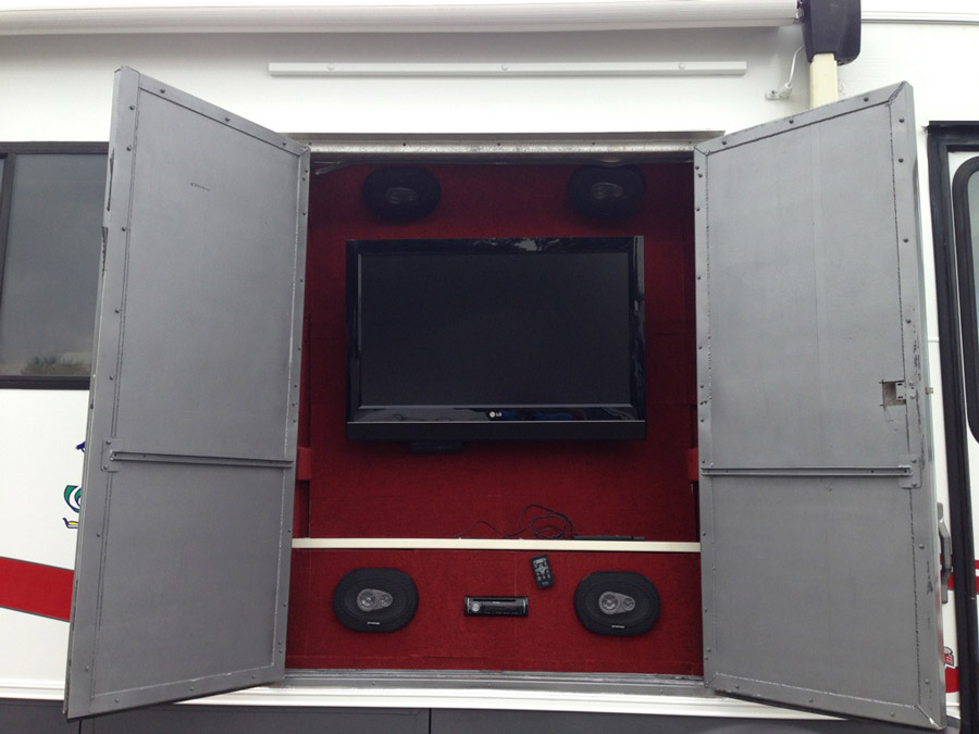 custom-tv-media-center-outside-of-motor-home