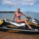 We can repair any wave runner fiberglass damage (girl not included)