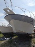 finished-bow-of-restored-fiberglass-boat-repairs