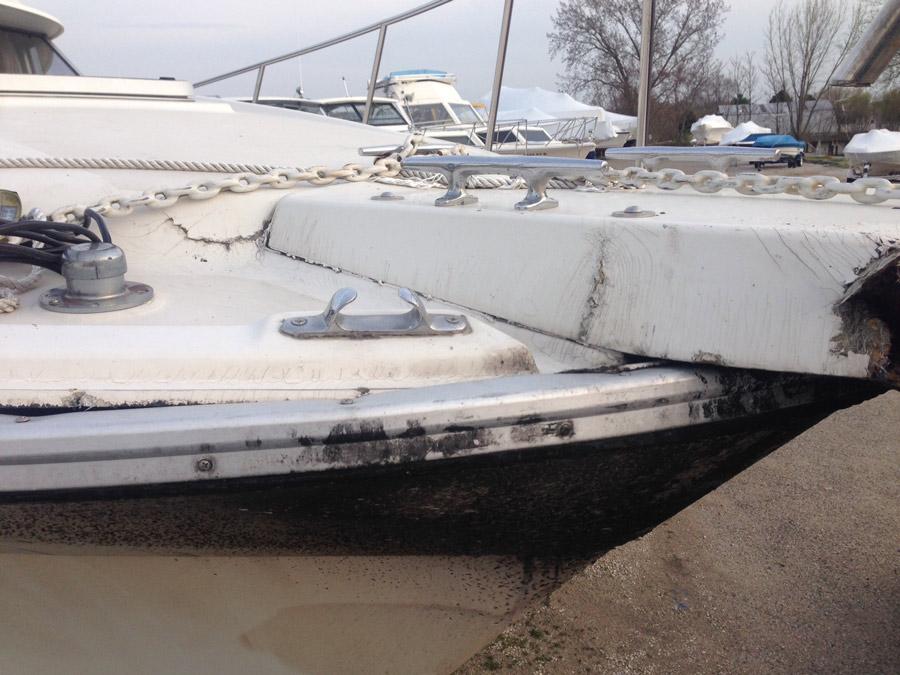 Professional Boat Fiberglass Repair Hancock Rv Repair