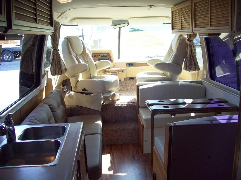 Motorhome interior remodel