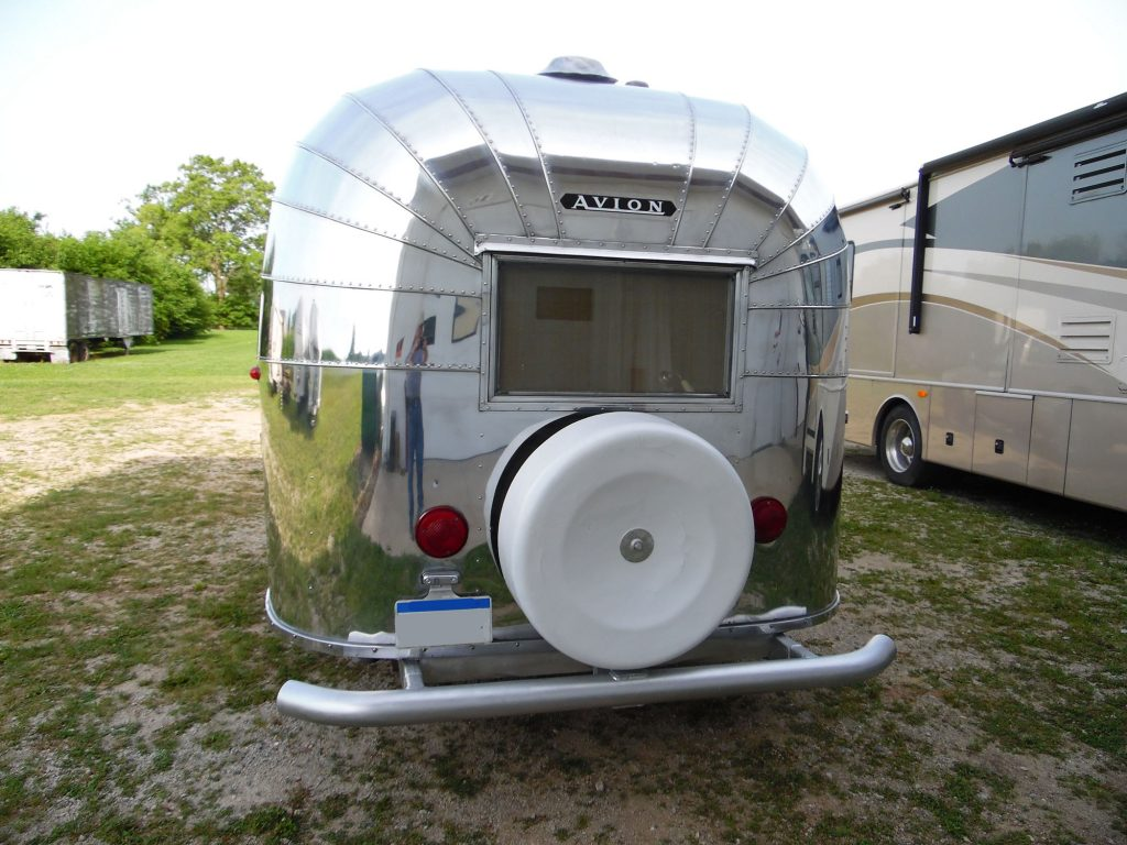 Vintage Avion Travel Trailer Restoration 1 Hancock Rv