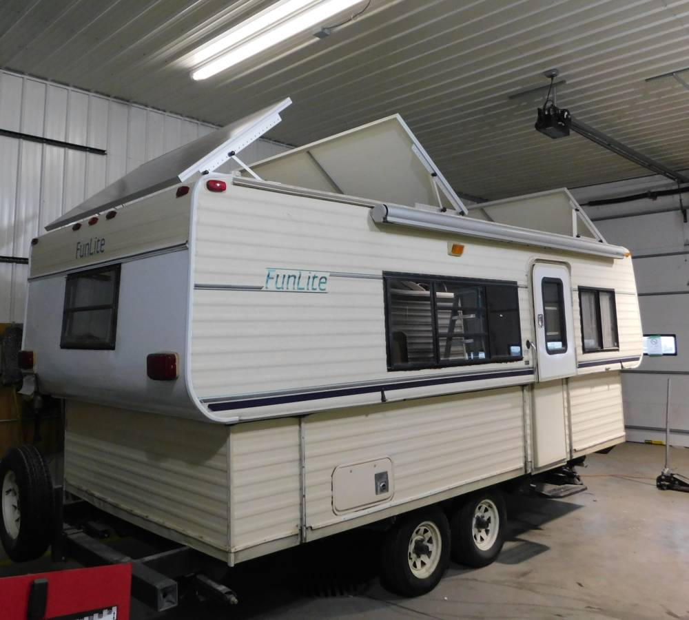 Custom off-grid camper conversions