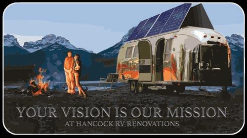 Hancock RV Renovations and off-grid camper conversions